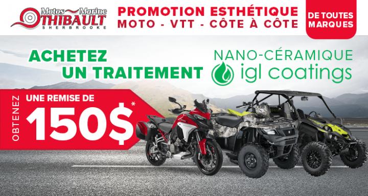 Esthétique Moto- VTT – Côte à côte