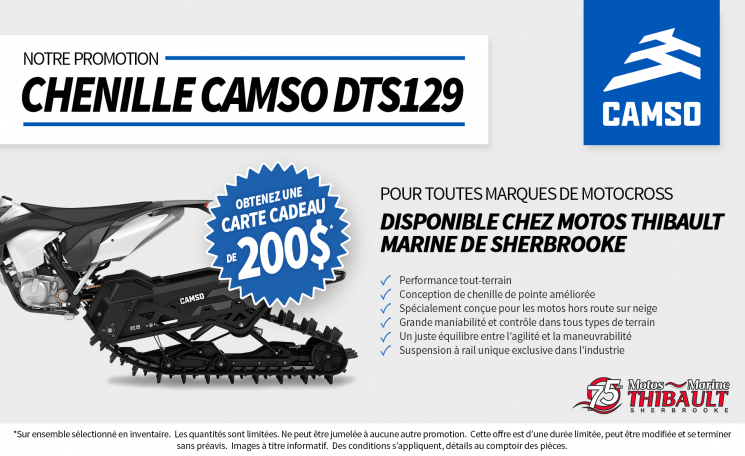 Chenille Camso DTS129