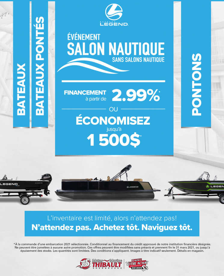 Legend – Salon nautique