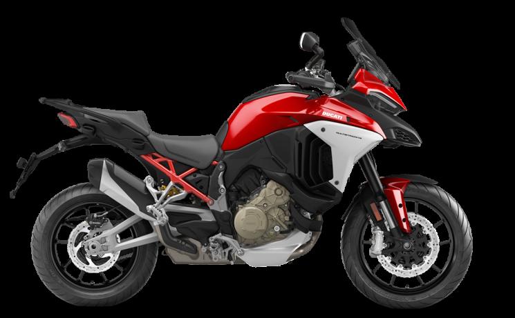 Ducati Multistrada V4 Ducati Red 2021