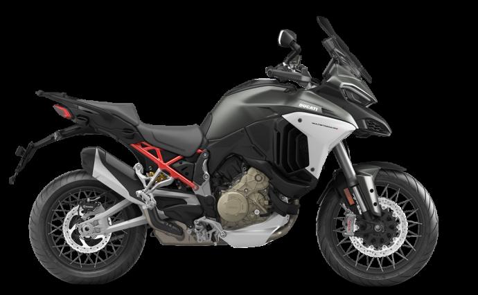 Ducati Multistrada V4 S Travel + Radar + Roues à rayons Aviator Grey 2021