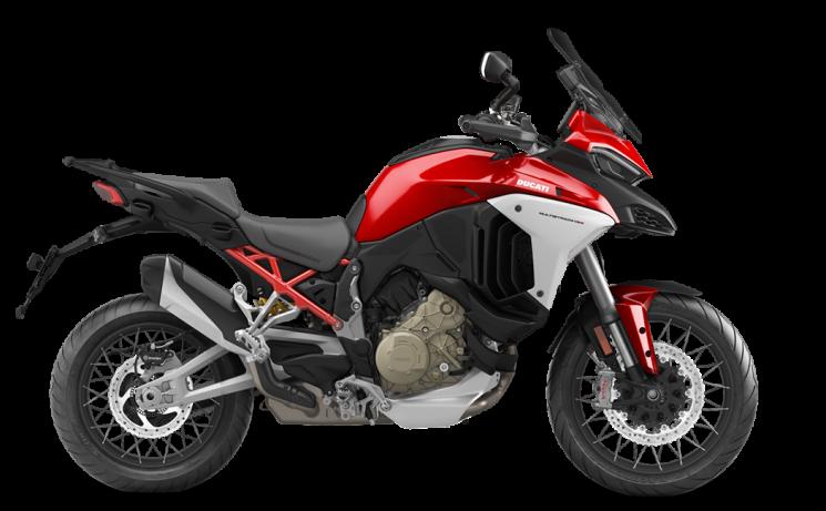 Ducati Multistrada V4 S Travel + Radar + Roues à rayons Ducati Red 2021