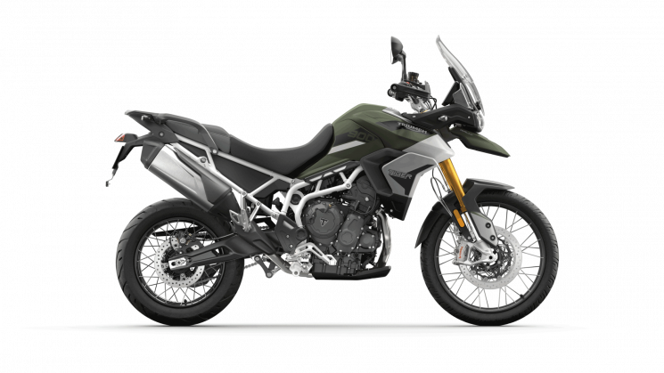 Triumph Tiger 900 Rally Matte Khaki Green 2021