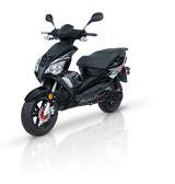 Adly GTA-50 Noir Lustré 2021