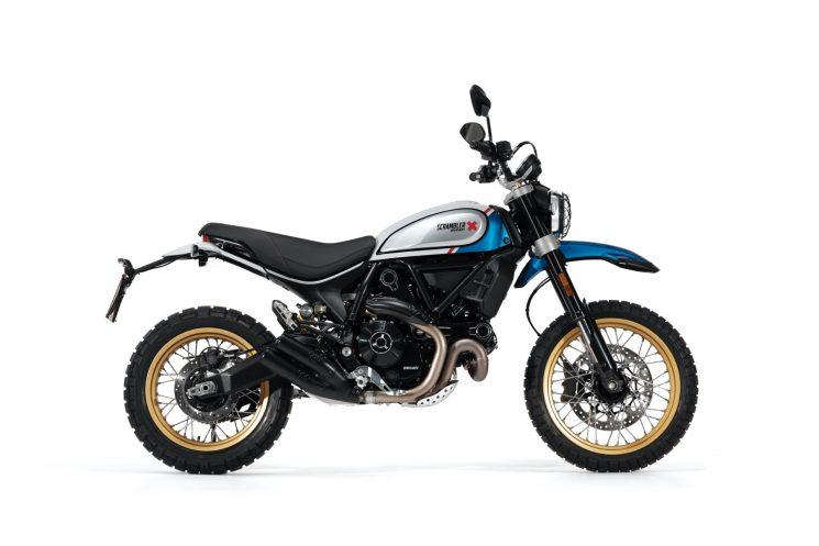 Ducati Scrambler Desert Sled Blue 2021
