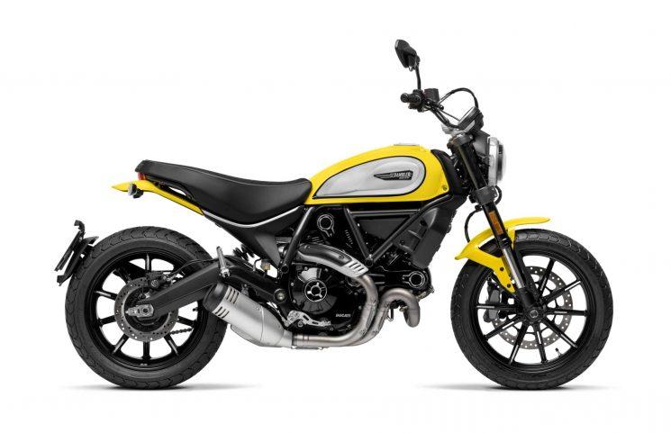 Ducati Scrambler Icon Yellow 2021