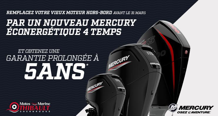 Mercury – Remplacez votre moteur