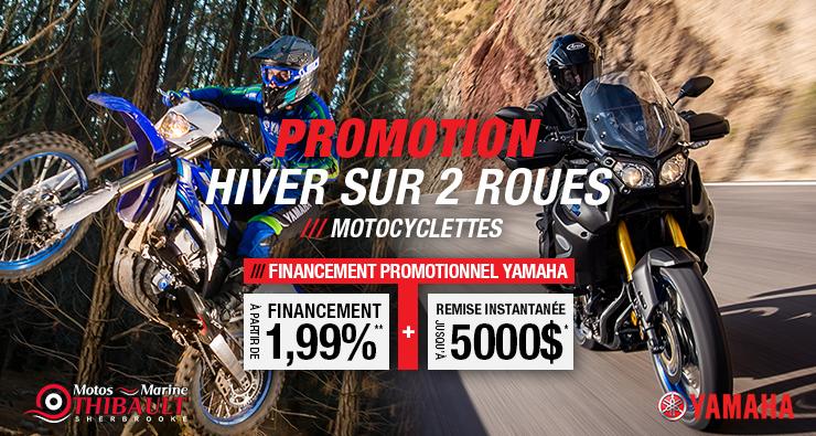 Yamaha – Hiver sur 2 roues