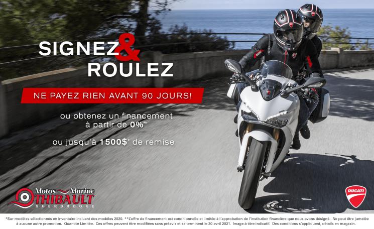Ducati – Signez & roulez