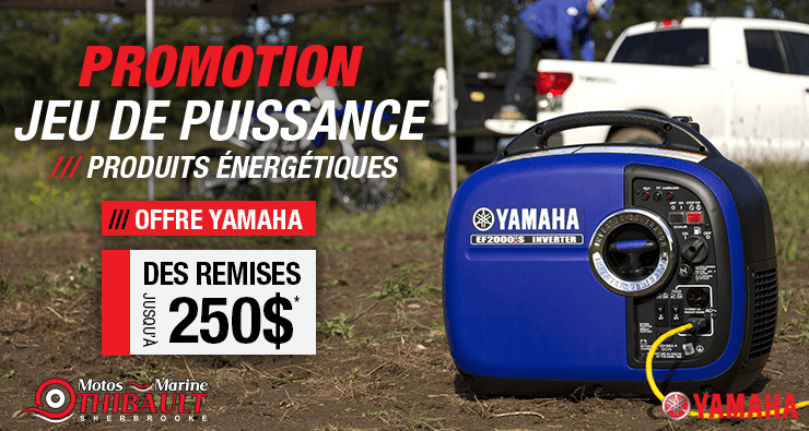 Yamaha – Jeu de puissance