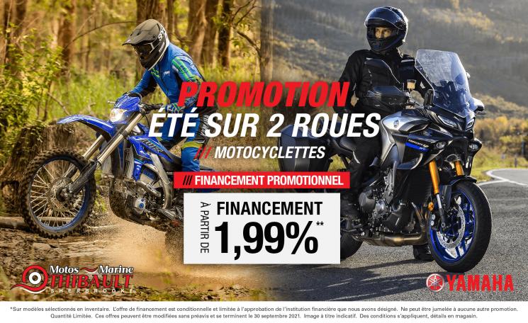 Yamaha – Été sur 2 roues