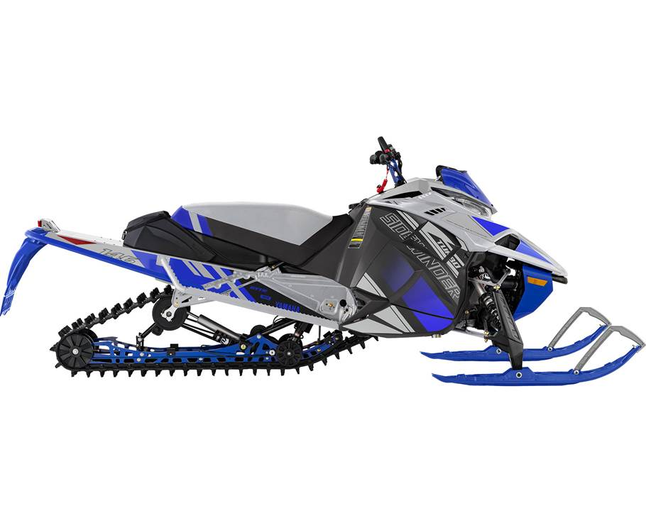 Yamaha SIDEWINDER X-TX LE ARGENT GIVRÉ/BLEU TEAM YAMAHA 2022
