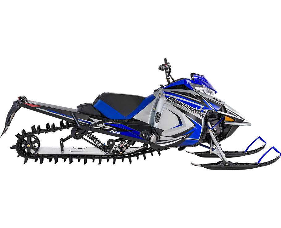 Yamaha MOUNTAIN MAX LE 154 SL ARGENT GIVRÉ/BLEU TEAM YAMAHA 2022