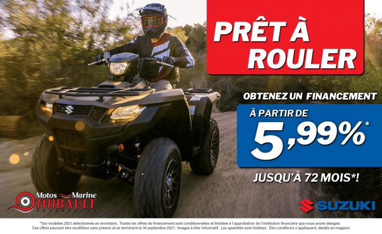 Suzuki – Prêt à router