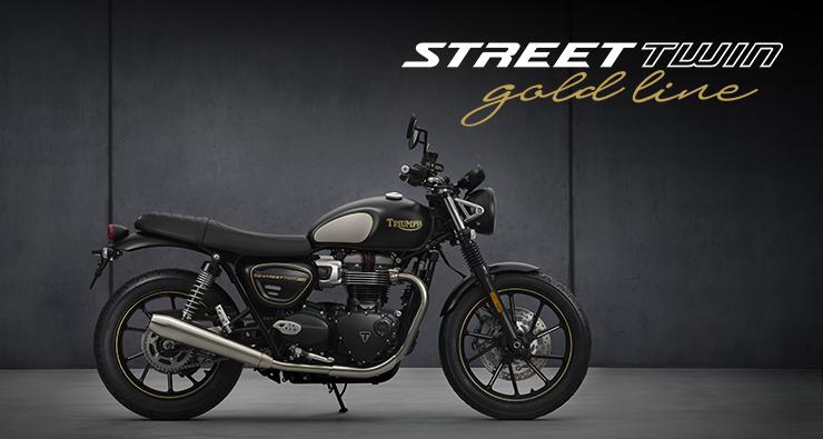 Triumph Street Twin 2022 Gold Line Edition