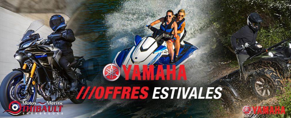 Yamaha – Offres estivales