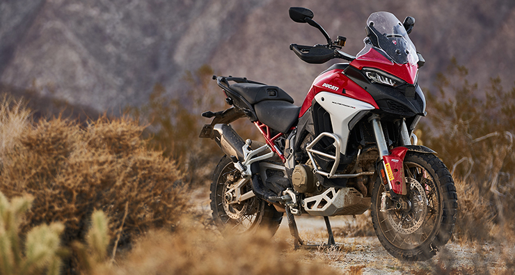 La Ducati Multistrada V4 S reçoit la certification radar nord-américaine