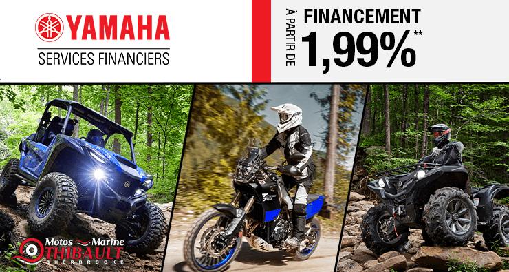 Offres automnale sport motorisé Yamaha